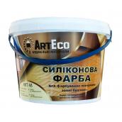 Краска фасадная ArtEco Art-48 силиконовая 10 кг белый
