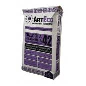 Смесь для пола ArtEco 42 25 кг серый