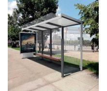 Изготовление автобусных остановок из металлоконструкций