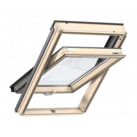 Мансардное окно VELUX Стандарт Плюс GLL 1061B MK08 деревянное двухкамерное 780х1400 мм