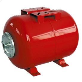 Гідроакумулятор горизонтальний Aquatica 779124 сталь 80 л 590х450х480 мм