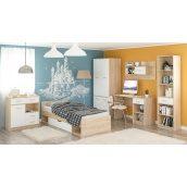 Дитяча спальня Меблі-Сервіс Типс дуб самоа/білий матовий