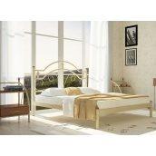 Односпальне ліжко Метал-Дизайн Діана 1900х1200 мм біла