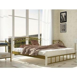 Металлическая кровать Металл-Дизайн Афина на деревянных ножках 1900х1400 мм