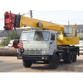 Оренда автокрана на базі Камаз 53213