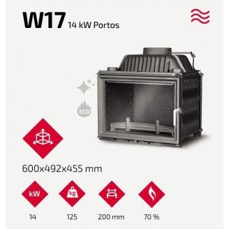 Камінна топка Kawmet W17 14 кВт