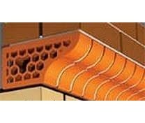 Кирпич фасонный лицевой СБК 250x120x65 мм 1000 шт морковный
