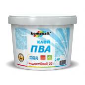 Клей Kompozit ПВА D3 5 кг