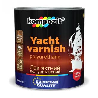 Лак для яхт полиуретановый Kompozit глянцевый 2,5 л