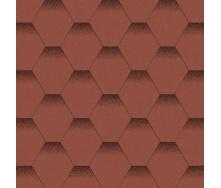 Бітумна черепиця Aquaizol Мозаїка 320х1000 мм Червоний мак