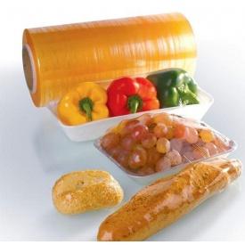 Стретч-пленка ПВХ пищевая дышащая 450 мм 8 мкм 1500 м