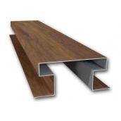 Планка стыковочная Suntile Блок-Хаус Бревно Н-образная для металлосайдинга 2000 мм