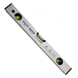 Уровень спиртовой Сталь 1000 мм профиль 0,9 мм 3 капсулы