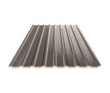 Профнастил Ruukki Т15 Polyester фасадный 13,5 мм темно-коричневый
