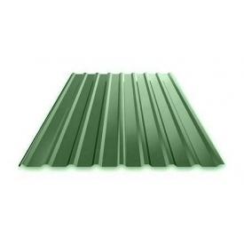 Профнастил Ruukki Т15 Polyester фасадний 13,5 мм зелений