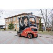 Дизельний навантажувач Linde Н14D 1400 кг