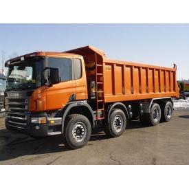 Аренда самосвала Scania 30 т 20 м3