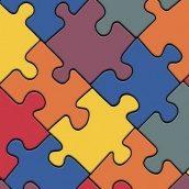 Линолеум IVC LEOLINE Bingo PUZZLE COLOUR 50 2,5 м