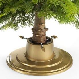 Подставка для елки Form-Plastic Orbit золотая