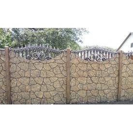 Плита Киев-Забор Бут пазл решетка односторонняя 2х0,5 м