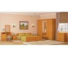 Спальня Мебель-Сервис Соната 6Д ольха