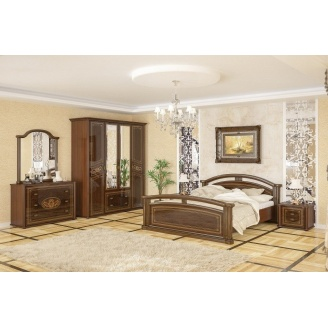 Спальня Мебель-Сервис Алабама 4Д вишня портофино