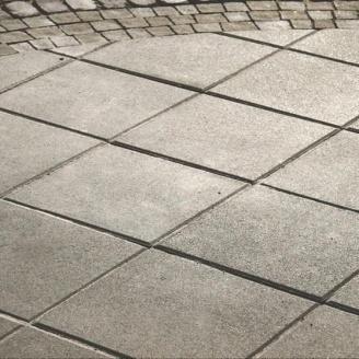 Тротуарная плитка Золотой Мандарин Плита 400х400х60 мм серый