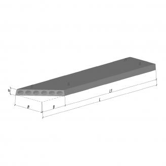Плита перекрытия ПК 61-12-8 К2 582 ТМ «Бетон от Ковальской»