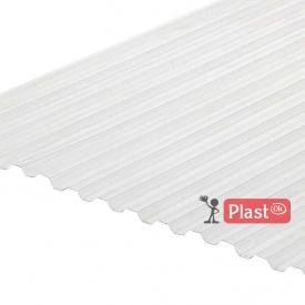 Профилированный монолитный поликарбонат Borrex 6x1,05 м прозрачный