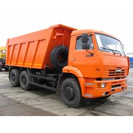 Доставка щебеню 40-70 мм машиною КАМАЗ 5511