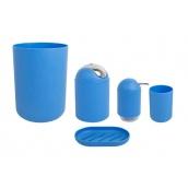 Набор для ванной комнаты Trento Miki 5-в-1 темно-синий
