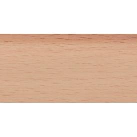 Плинтус-короб TIS без прорезиненных краев 56х18 мм 2,5 м бук светлый