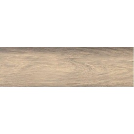 Плинтус-короб TIS с прорезиненными краями 56х18 мм 2,5 м дуб белый