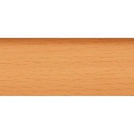 Плинтус-короб TIS с прорезиненными краями 56х18 мм 2,5 м бук