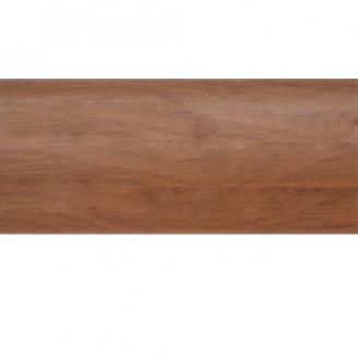 Плинтус-короб TIS с прорезиненными краями 56х18 мм 2,5 м орех европейский