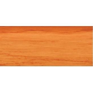 Плинтус-короб TIS с прорезиненными краями 56х18 мм 2,5 м ольха классическая