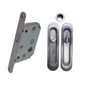 Комплект для раздвижных дверей RDA хром