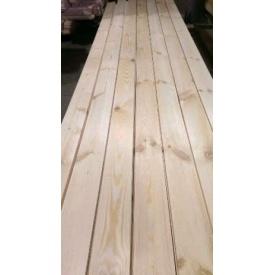 Дошка підлоги УкрЭкоЛес сосна 1 сорт 4500х125х35 мм
