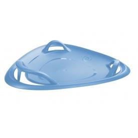 Санки-ледянка Plastkon Meteor 70 cм синие
