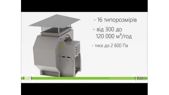 Вентилятор радиальный VRAN