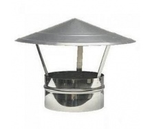 Колпак для дымохода Грибок 400 мм оцинкованный