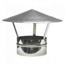 Колпак для дымохода Грибок 160 мм оцинкованный