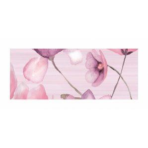 Декор для плитки Golden Tile Flora 200х500 мм розовый (1В5321)