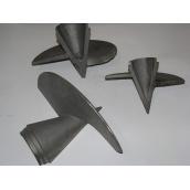 Литий наконечник для гвинтових паль 108x300 мм