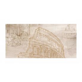 Декор для плитки Golden Tile Savoy Coliseum №5 300х600 мм бежевый
