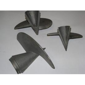 Литой наконечник для винтовых свай 108x300 мм