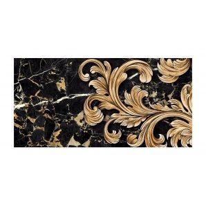 Декор для плитки Golden Tile Saint Laurent №1 300х600 мм черный