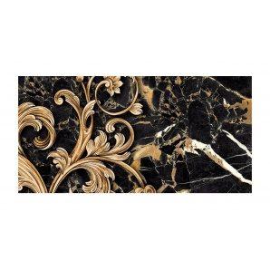Декор для плитки Golden Tile Saint Laurent №3 300х600 мм черный