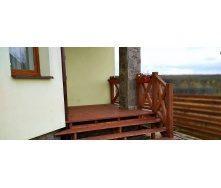 Изготовление деревянной террасы с лестницей