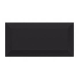 Керамическая плитка Golden Tile Metrotiles 100х200 мм черный